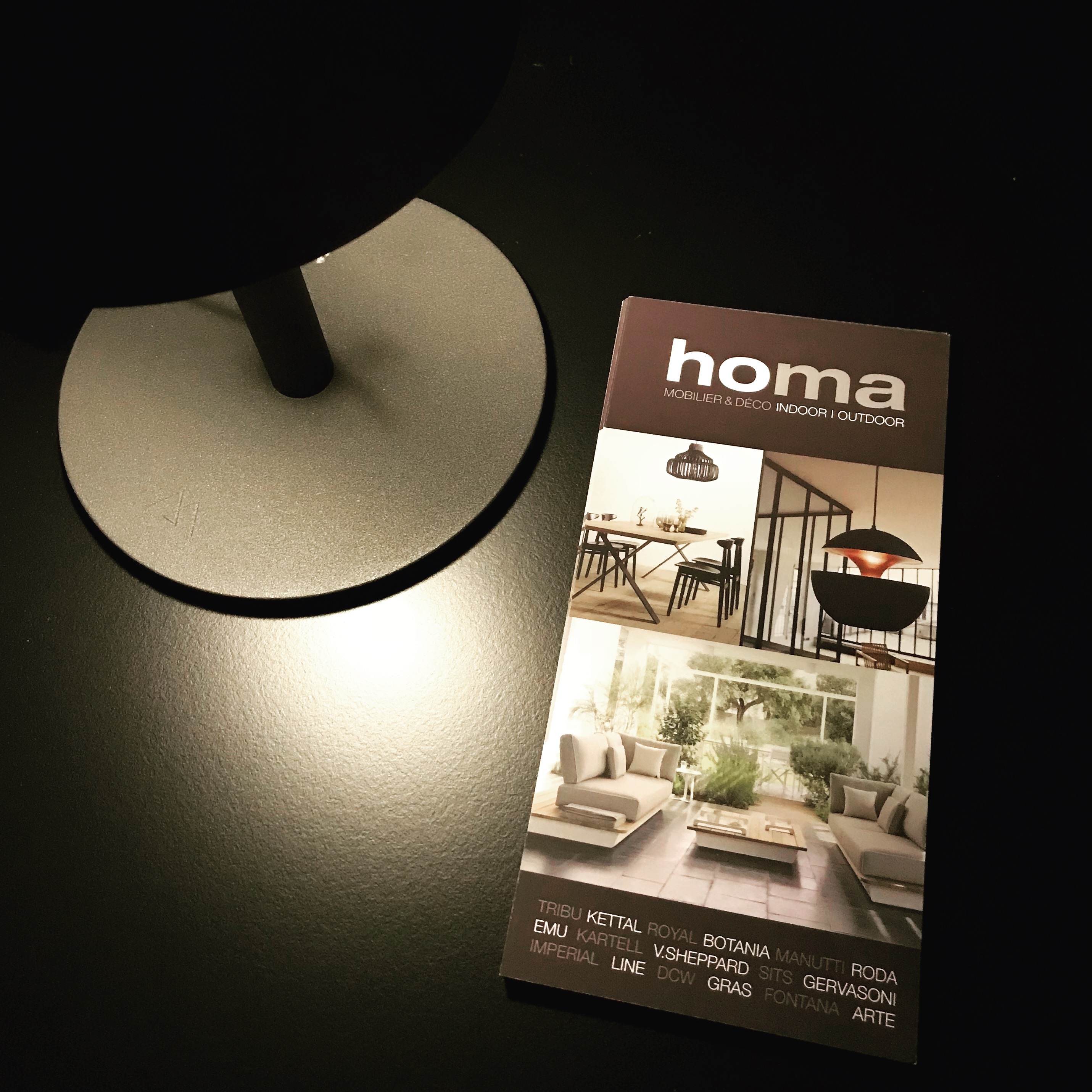 le showroom HOMA