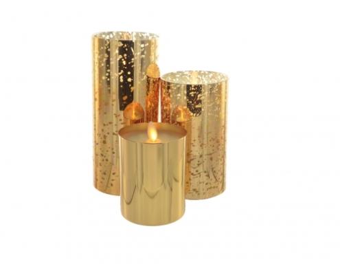 bougie-cire-luminara-8x18-cm-photophore-verre-mercurise-or-350-heures-3