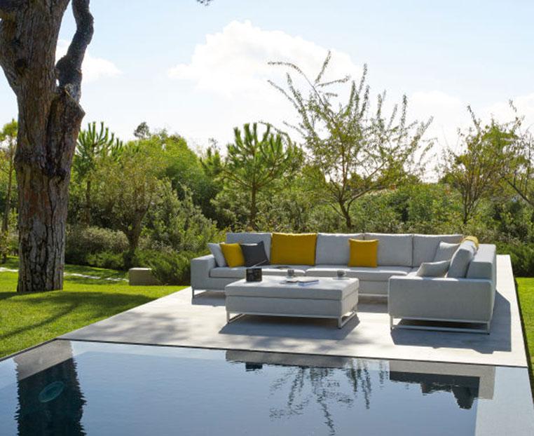 canapé outdoor zendo en angle