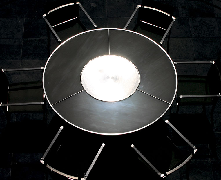 table Ozon inox ceramique