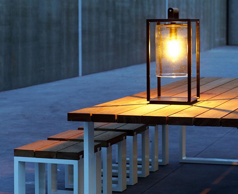 dome small luminaire extérieur