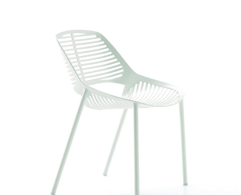 chaise Niwa blanche