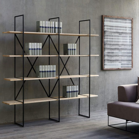 slim irony bookcase zeusnoto