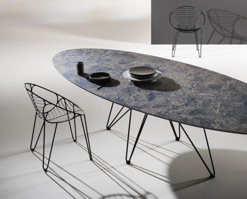 Wire_chair+table