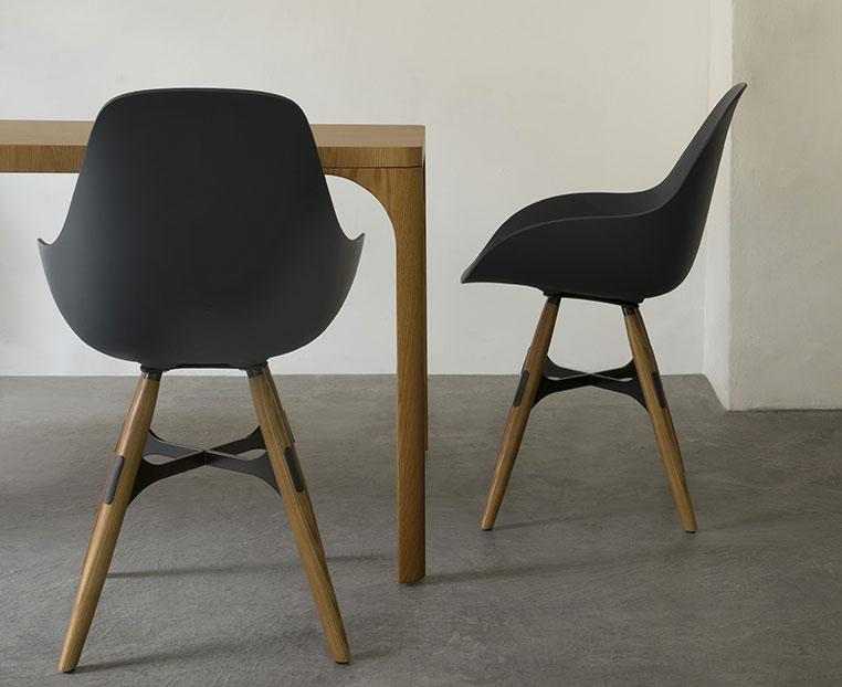 chaise zigzag Kubikoff