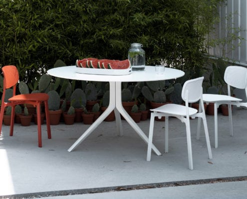 Table OOPS I did it again et chaise colander