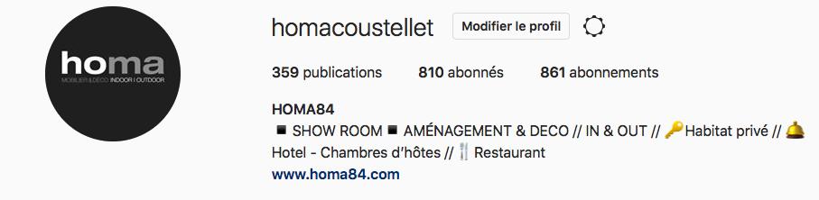 Instagram Homacoustellet