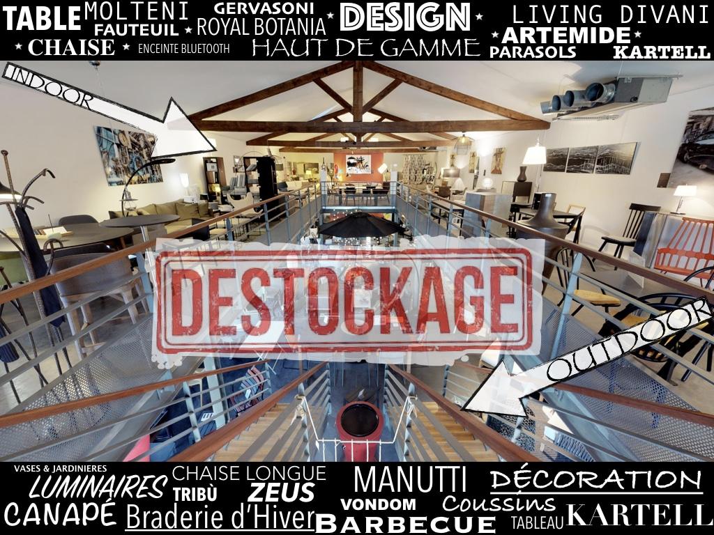 destockage braderie showroom Homa Coustellet
