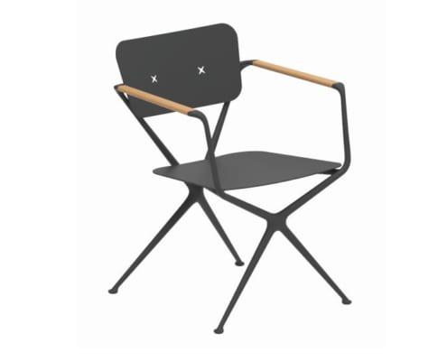 fauteuil exes noir
