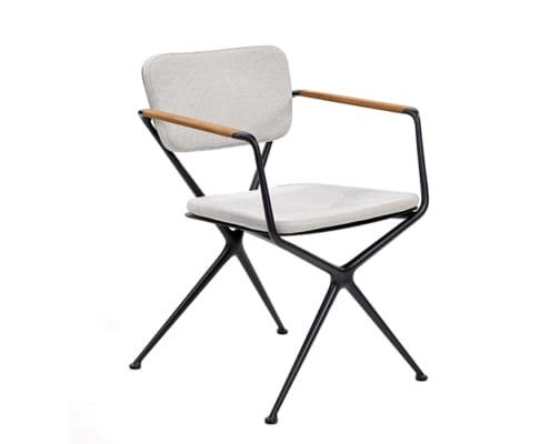 fauteuil exes noir_coussins