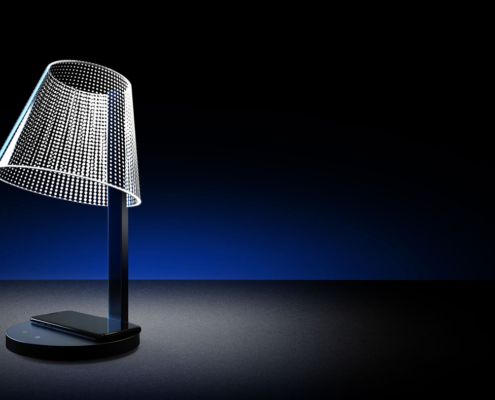 Lampe chargeur induction 169€90